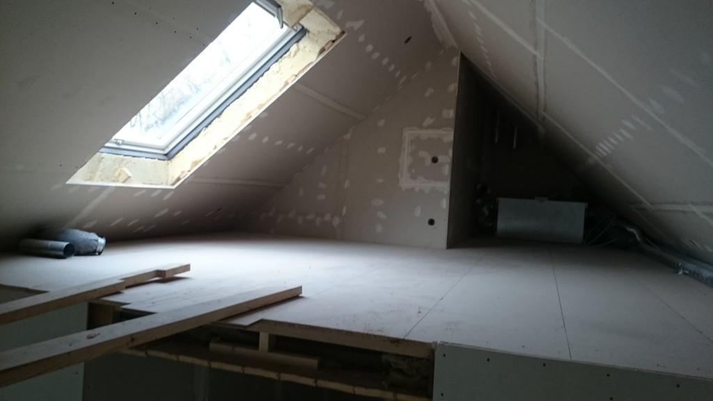 Loftet i 4:an.
